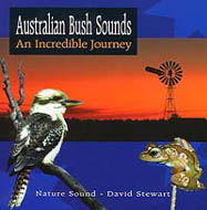 CD cover: Australian Bush Sounds - An Incredible Journey