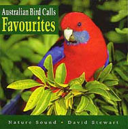 CD cover: Australian Bird Calls - Favourites